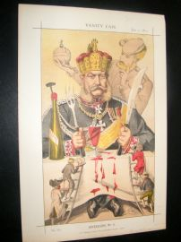 Vanity Fair Print 1871 King of Prussia, Royal